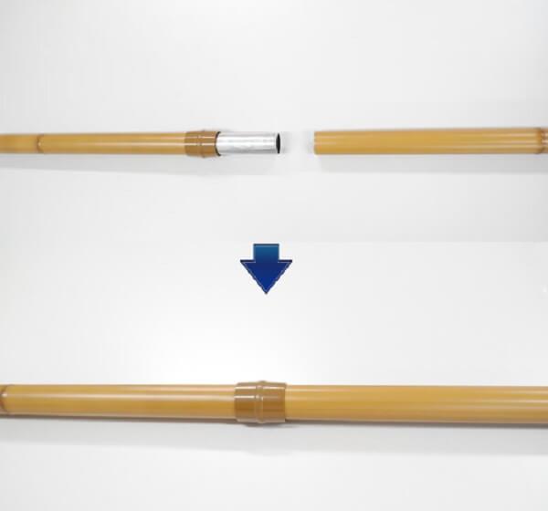 ジョイント式のれん棒1